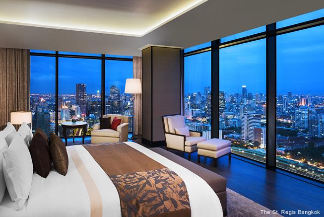 タイ・バンコクの高級ホテルでラ...